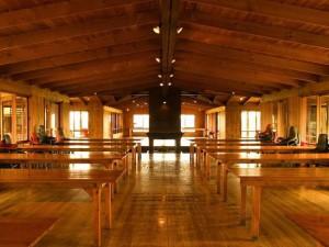 Accommodation - main hall at Kangaroobie school camp
