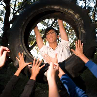 Lots of fun activities at Kangaroobie