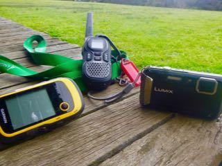 GPS, Walkie Talkie, Camera