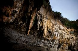 Cliffs at Loch Ard Gorge